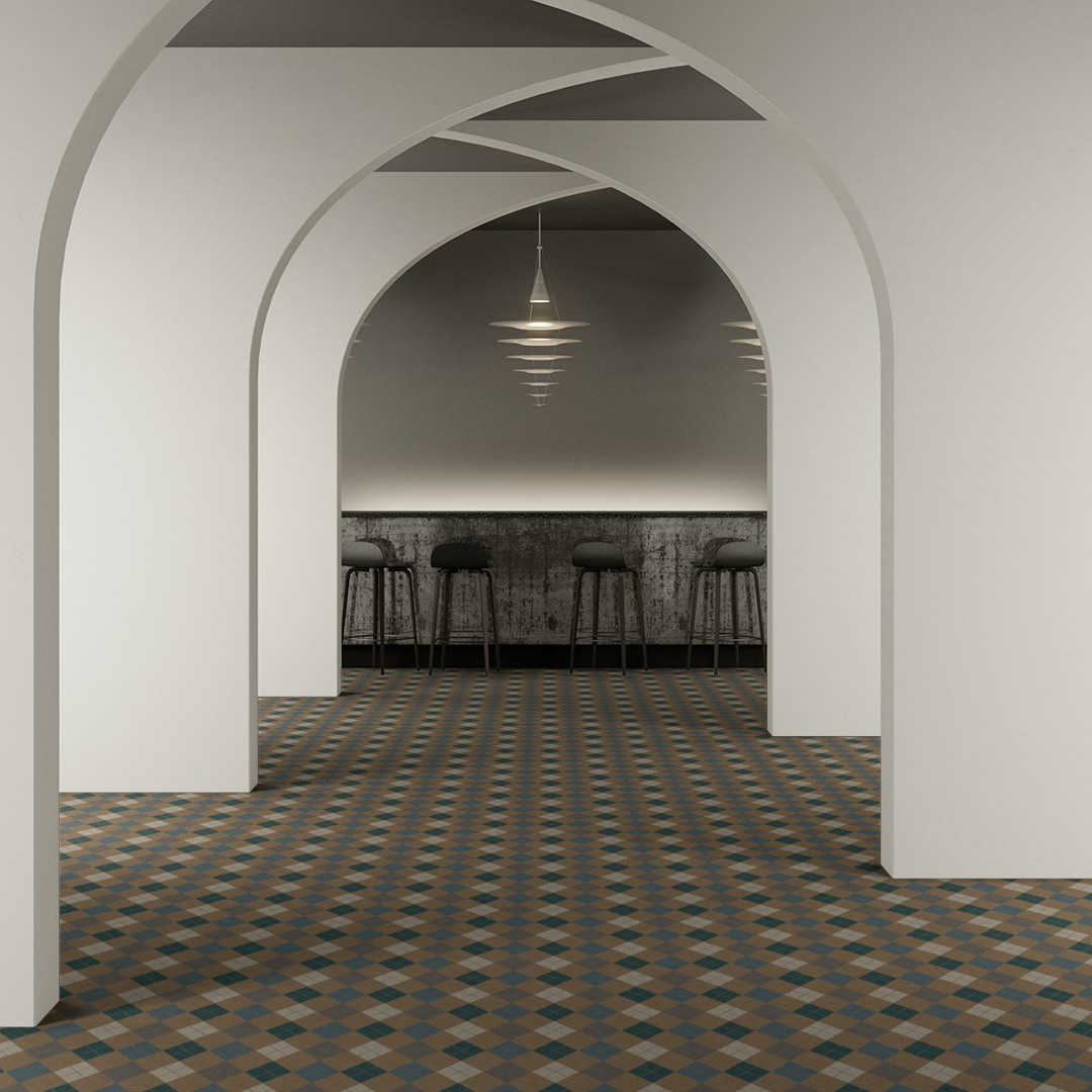 ARGYLE  beige Roomview 2