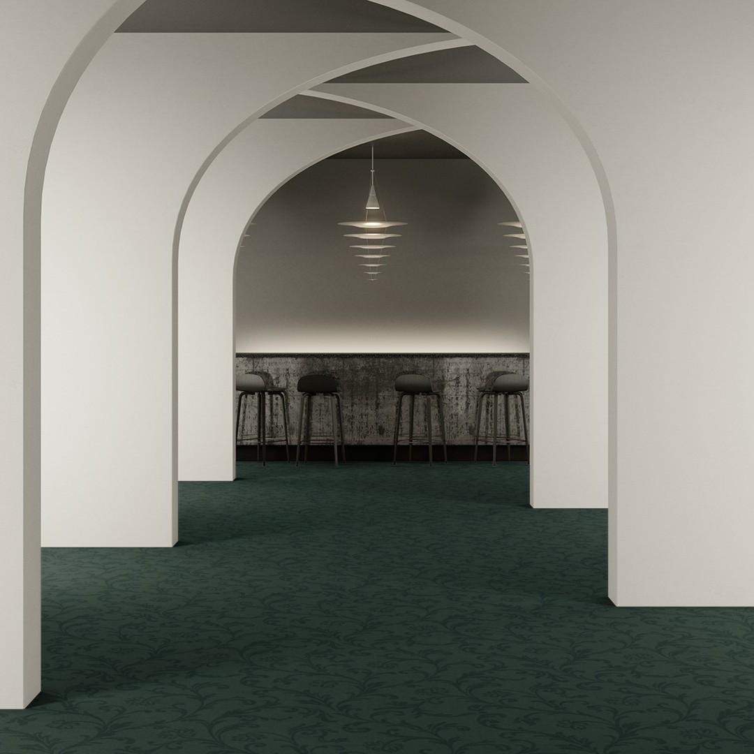 amalfi large  green Roomview 2