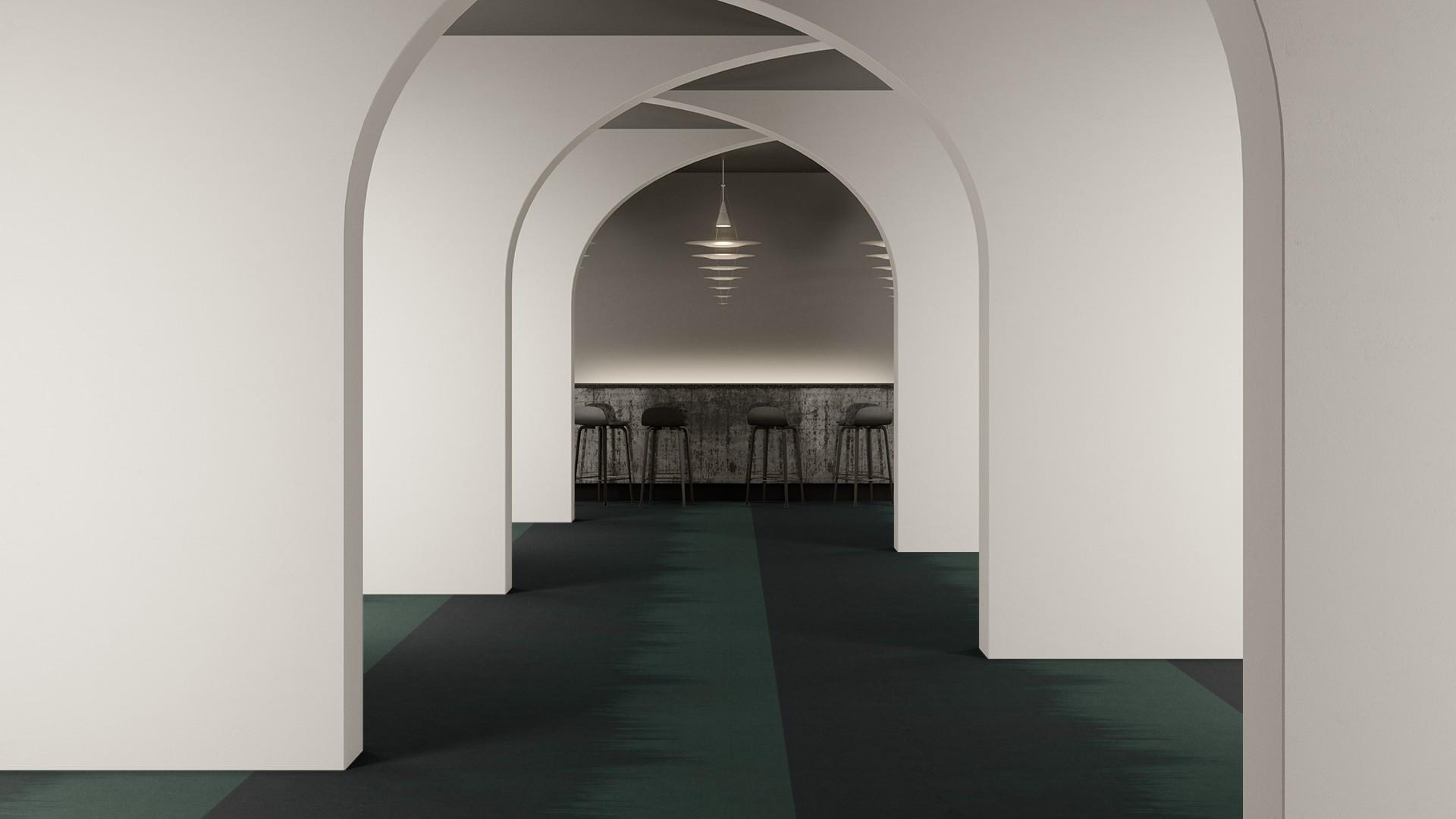 brush corridor 195 cm green RoowView 2