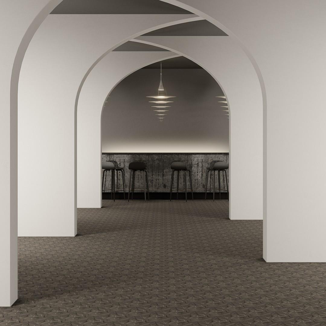 bended lines II grey Roomview 2