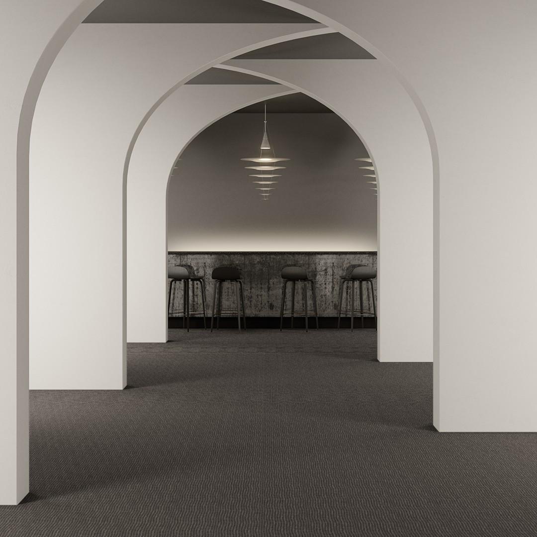 wavy mesh grey Roomview 2