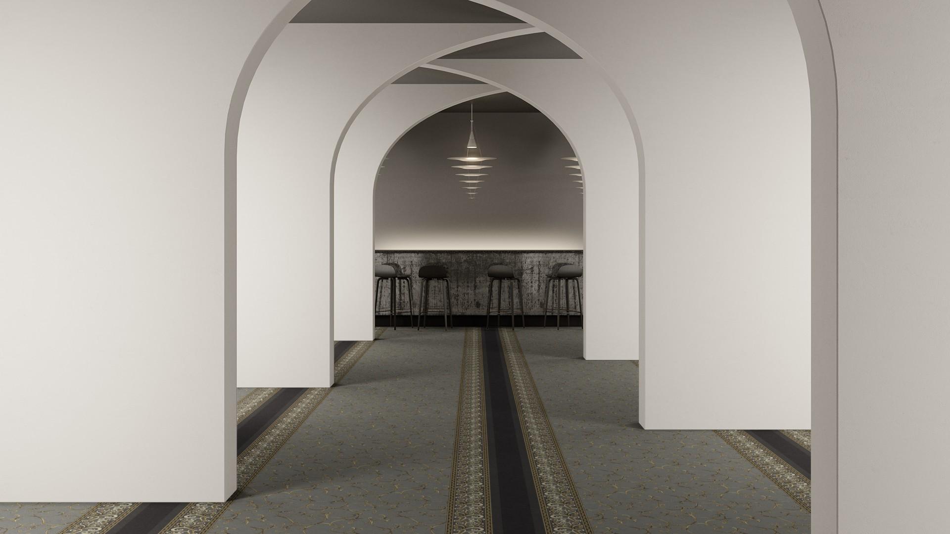 mucha corridor 195 cm grey RoowView 2