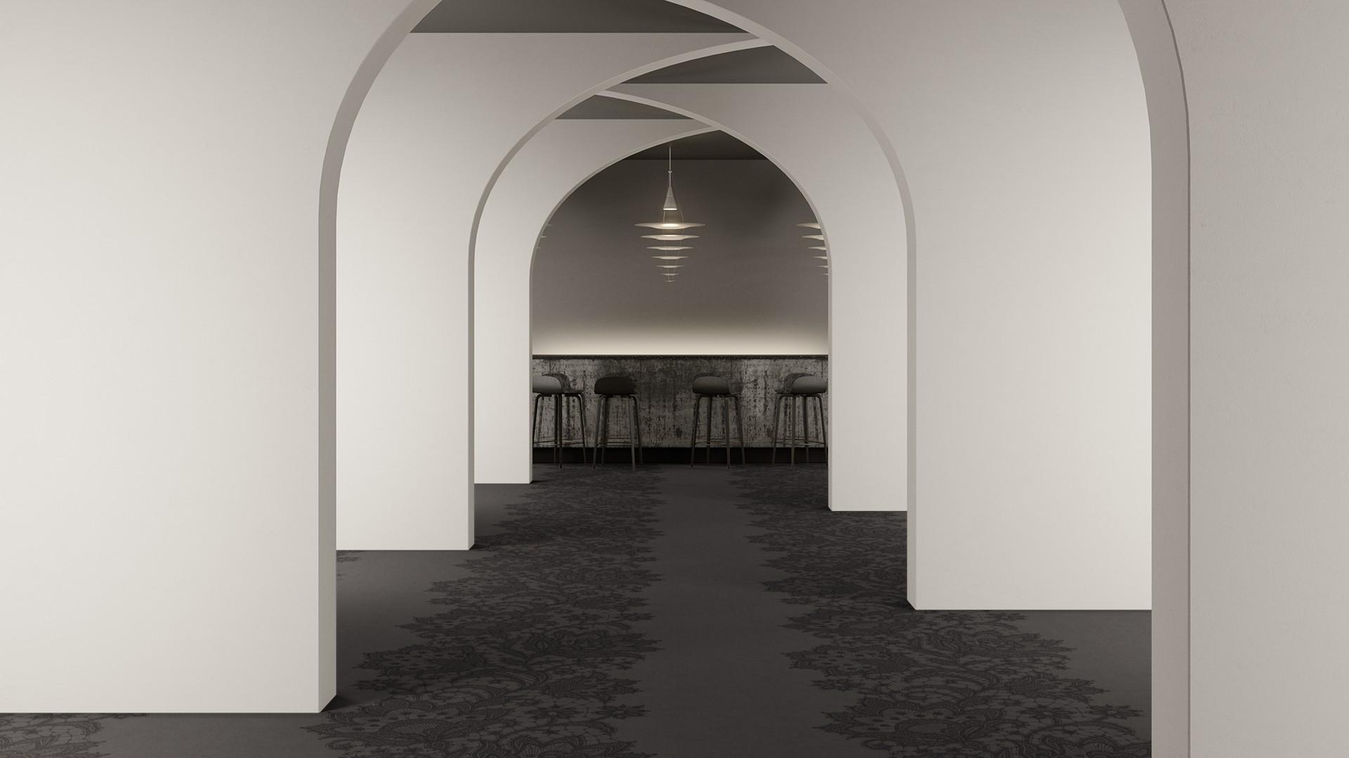doily corridor 195 cm grey RoowView 2