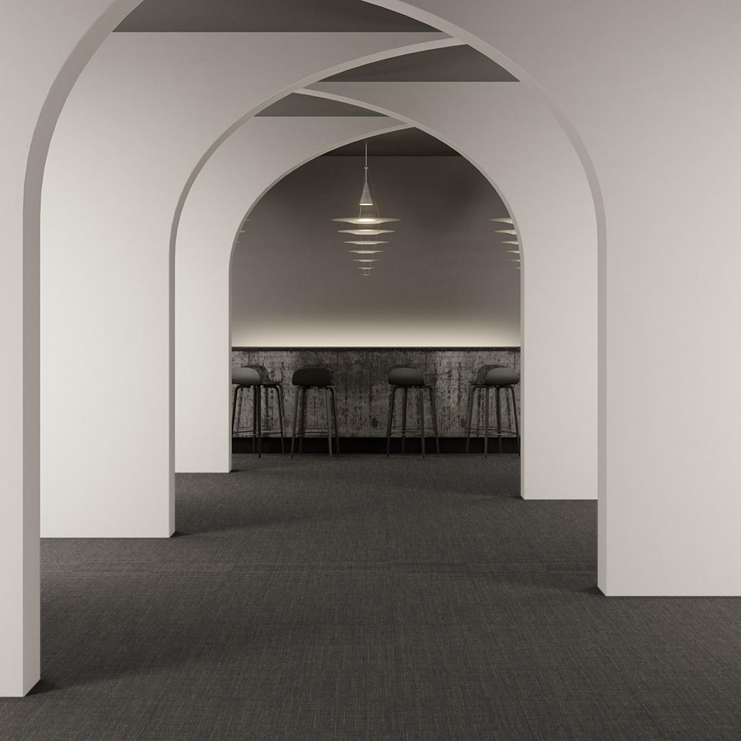 Fabric  grey Roomview 2