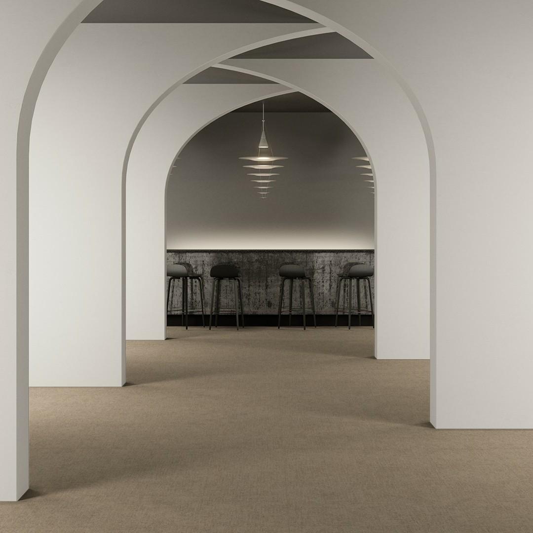 Flax  beige Roomview 2