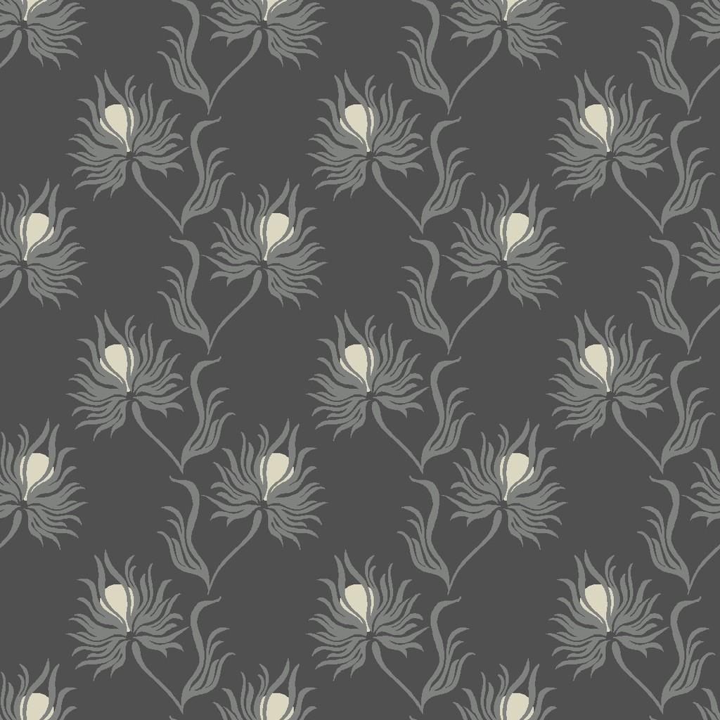 weed flower  grey