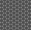 mosaic star  grey