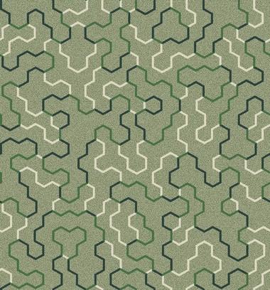 polygon patch green