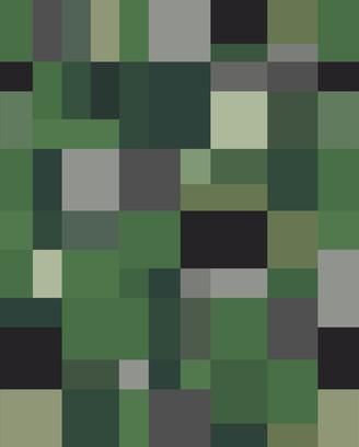 colour blocking green