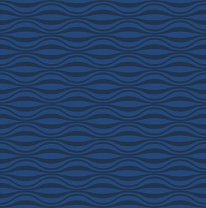 funky wave blue