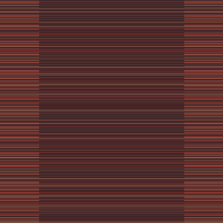 madras stripe corridor 195 cm  bordeaux