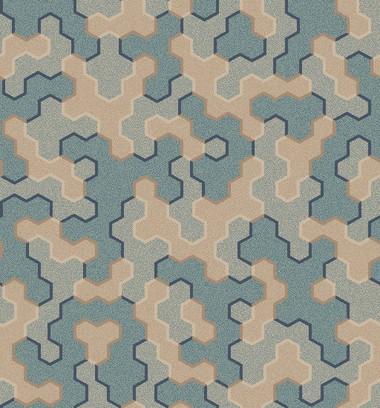 polygon patch  l.blue