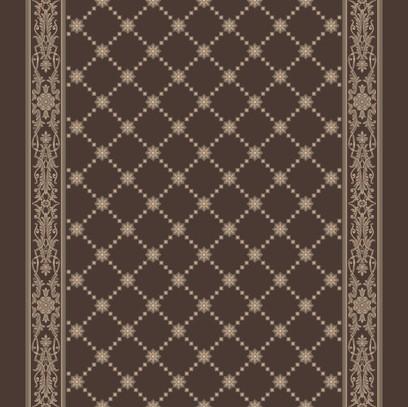 royal palace corridor  brown