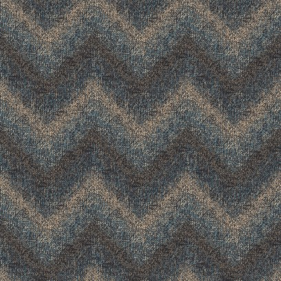zigzag knit  blue