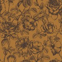 rose etching  orange