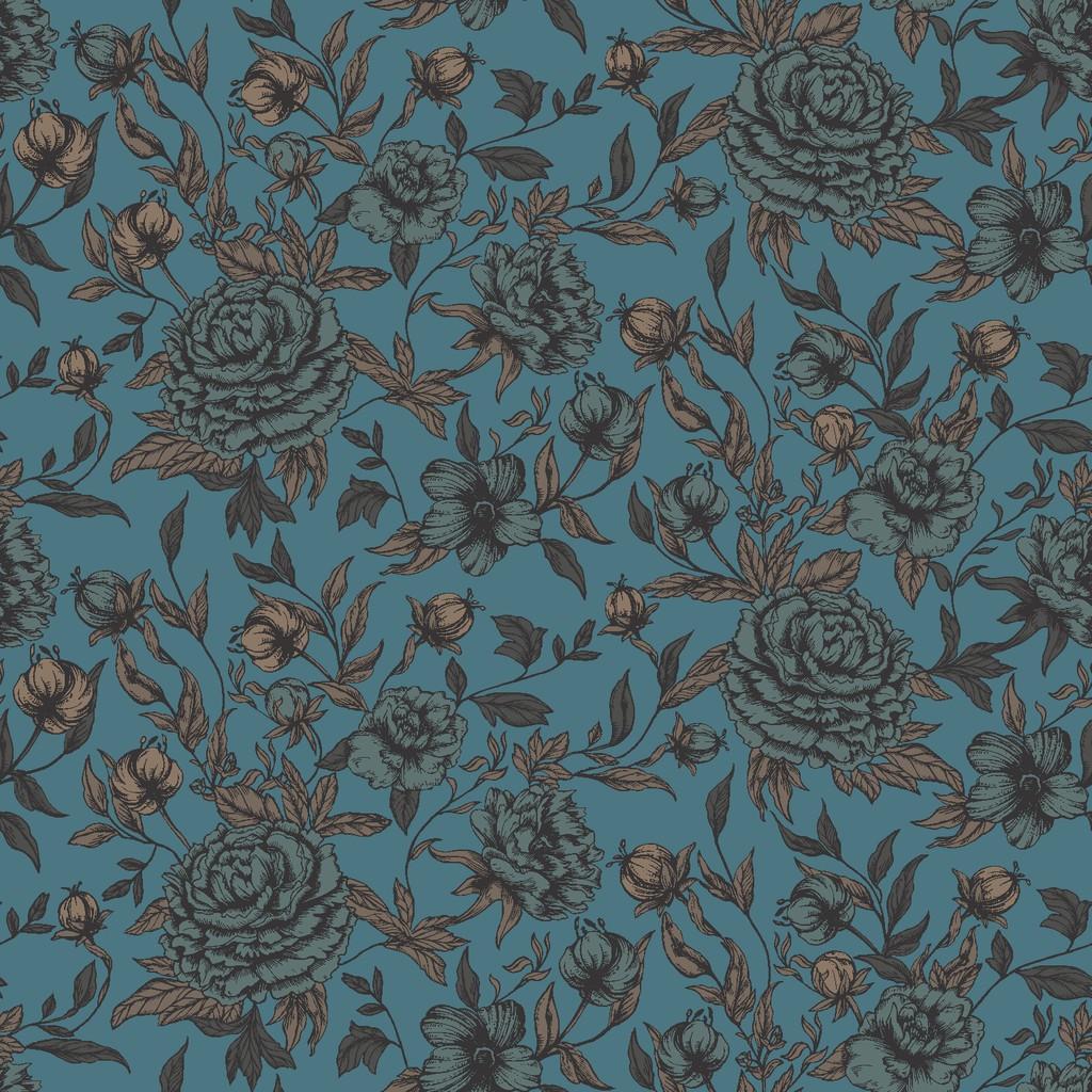 spanish rose  turquoise
