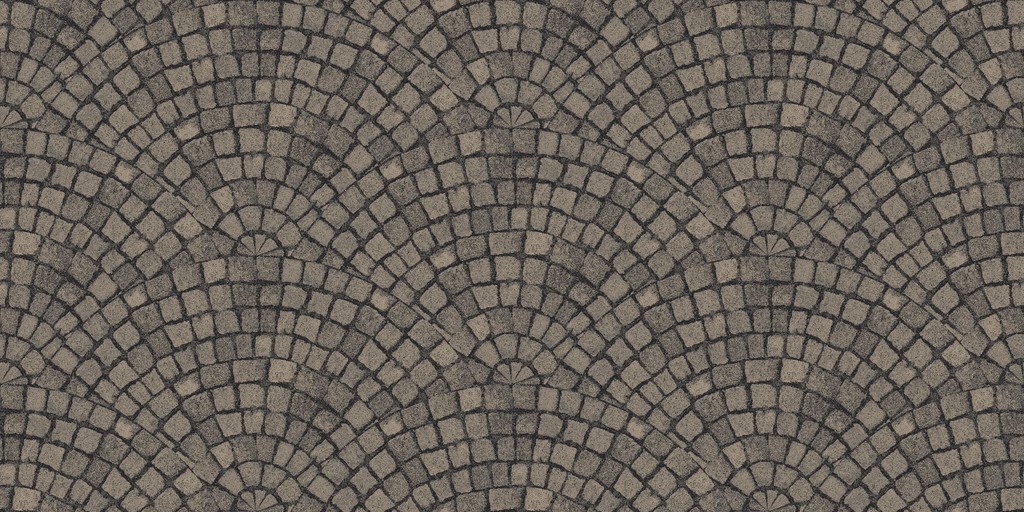 cobble fan  grey