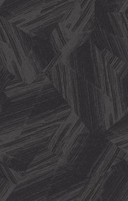 plissé black