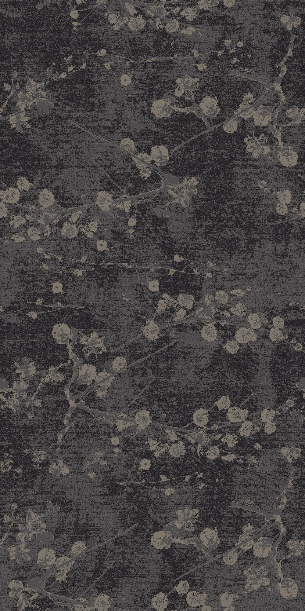 velvet bloom black