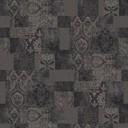 patchwork black