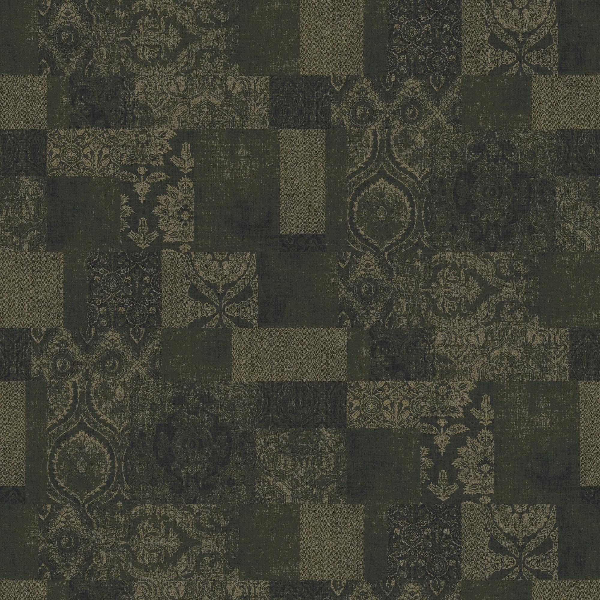 patchwork green