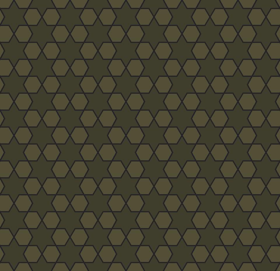 mosaic star  green