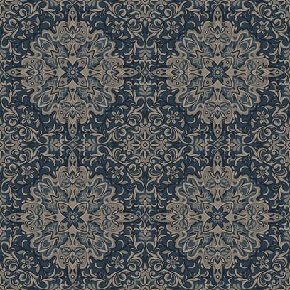 rochester medallion  blue