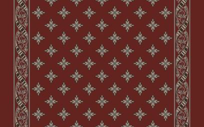 woven ribbin corridor  red