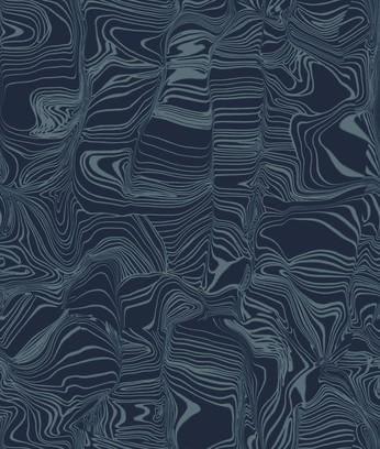 glass distortion  blue