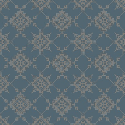 trondheim embroidery  light blue
