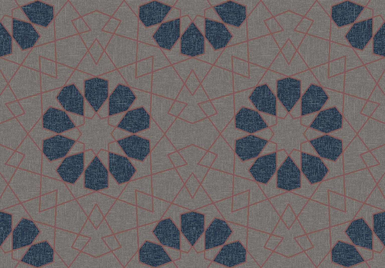 geometric lace  grey