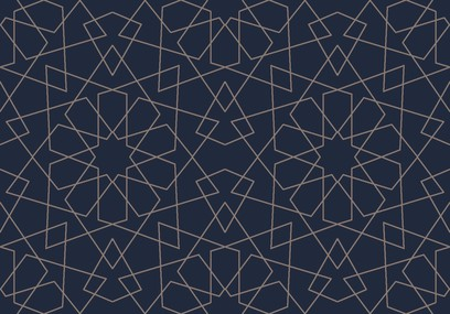 geometric lace  blue