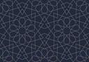geometric lace  blue