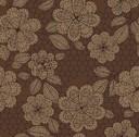 ancient flower brown
