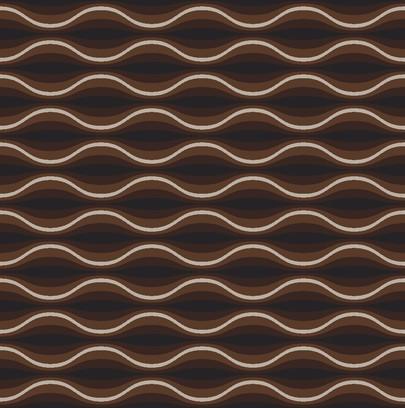 funky wave brown