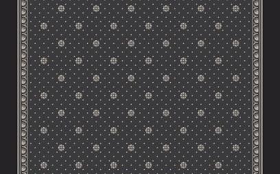 rosette corridor  grey