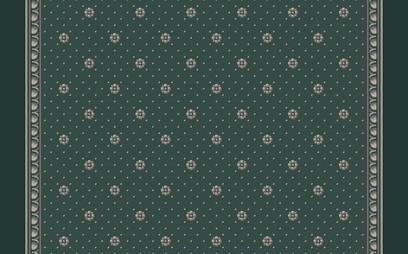 rosette corridor  green