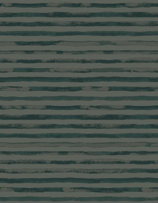 watercolour stripe  green