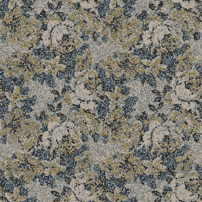 pointillist rose  grey