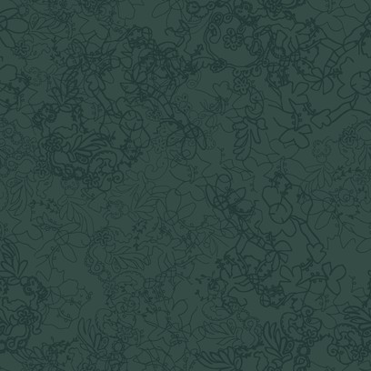 organic lace  green