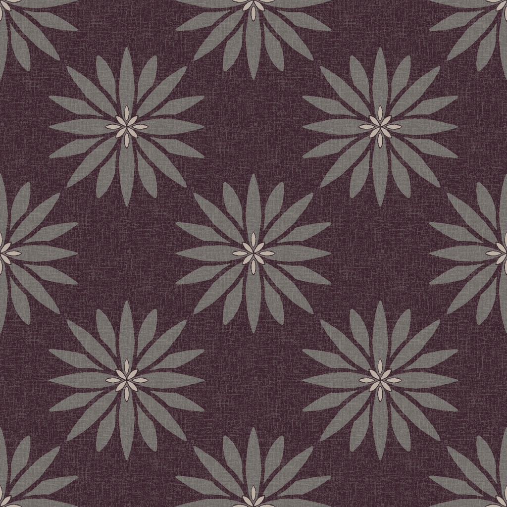 yoga flower   purple