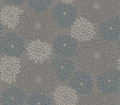 flower symphony  grey