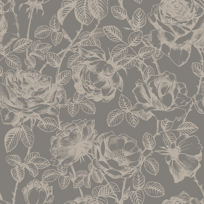 rose etching  grey