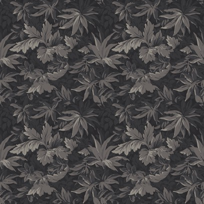 tapestry leaves  grey