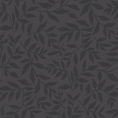graphic leaves  grey