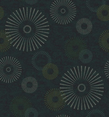 abstract flower green