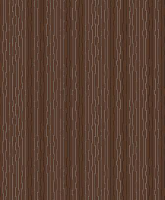 bended metal brown