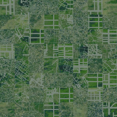 aerial map  green