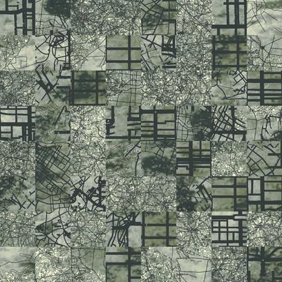 aerial map  grey
