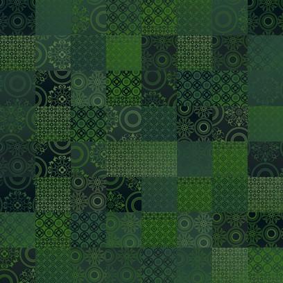spanish tiles  green